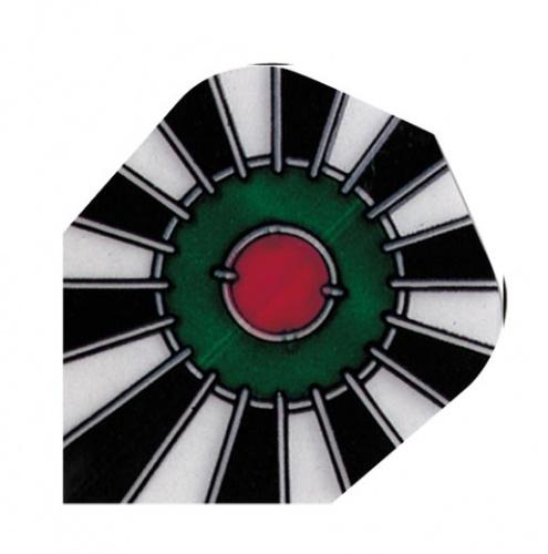 Harrows Darts Flight 1007 Poly Bullseye