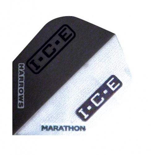 Harrows Darts Flight 1510 Marathon Black Ice