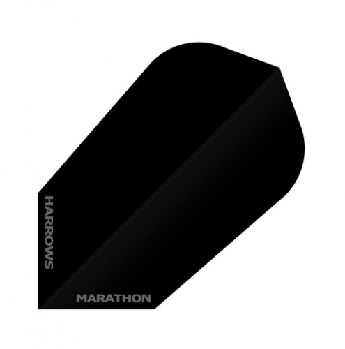 Harrows Darts Flight 1518 Marathon STD Zwart Smal 3 Stuks
