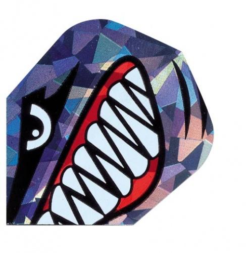Harrows Darts Flight 1601 Hologram Jaws
