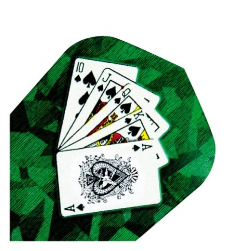 Harrows Darts Flight 1604 Hologram Playing Cards 3 Stuks