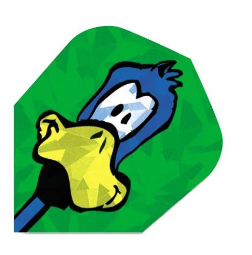 Harrows Darts Flight 1638 Hologram Duck 3 Stuks