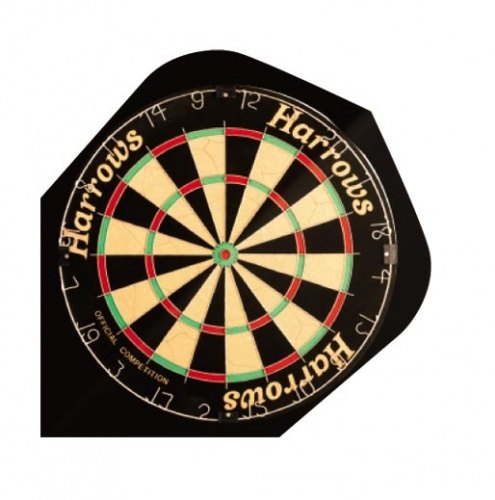 Harrows Darts Flight 2008 Quadro Dartboard
