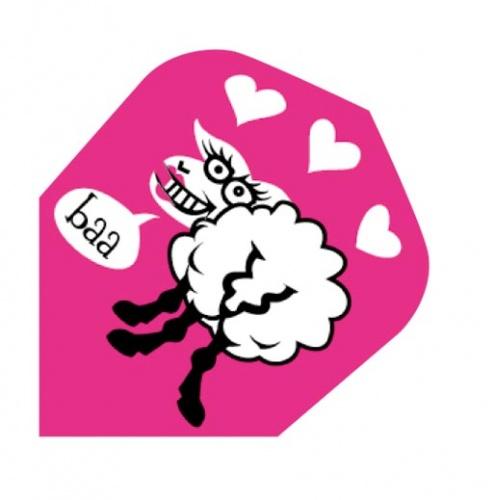 Harrows Darts Flight 2012 Quadro Happy Sheep