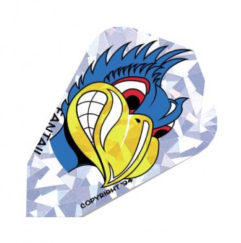 Harrows Darts Flight 3007 Fantail Blue Bird 3 Stuks