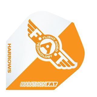 Harrows Darts Flight 5001 Marathon F.A.T. Oranje 3 Stuks