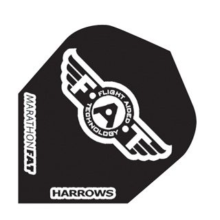 Harrows Darts Flight 5009 Marathon F.A.T. Solid 3 Stuks