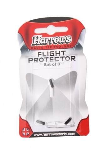Harrows Darts Flight Protector Aluminium Per 3 Stuks Zwart