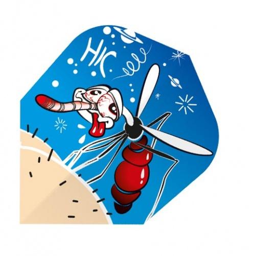 Harrows Darts Flight Quadro 2015 Drunken Mosquito 3 Stuks