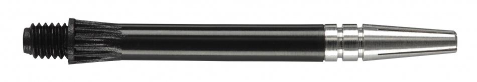 Harrows Darts Gyro Shaft Spin Top Zwart Medium 3 Stuks