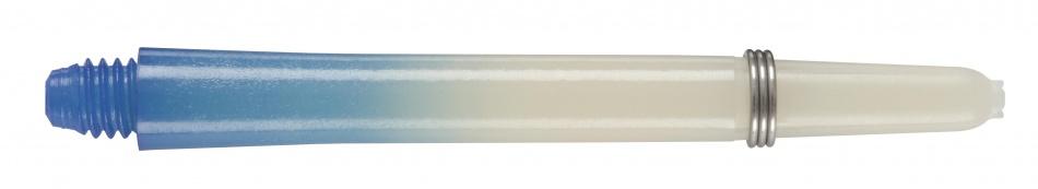 Harrows Darts Rainbow Shaft Short Blauw
