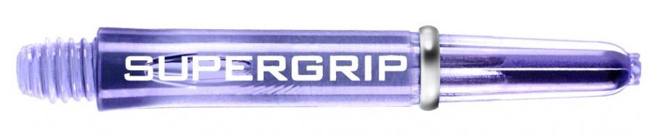 Harrows Darts Supergrip Nylon Shaft Paars Short 2BA 3 Stuks