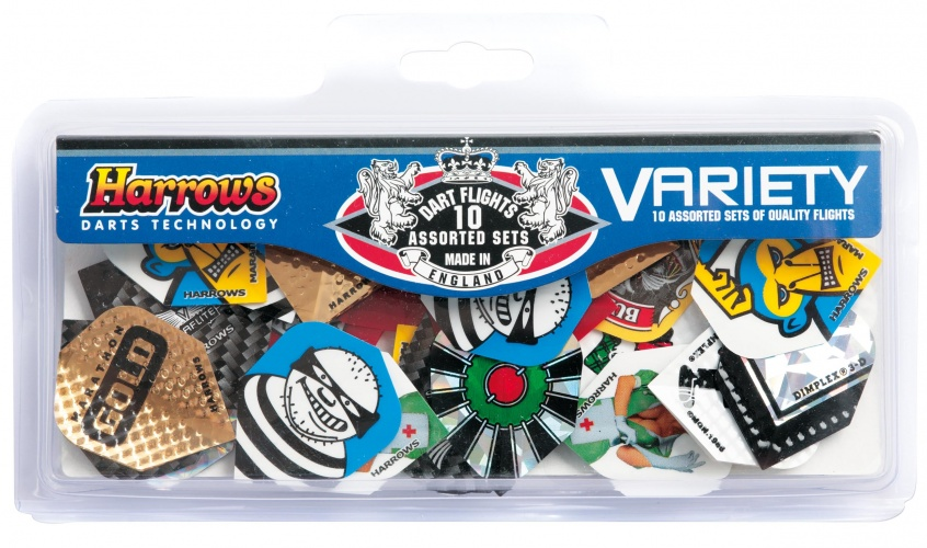 Harrows Darts Variety Pack Met 30 Flights
