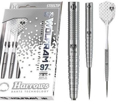 Harrows Darts Wolfram 97 Procent Dart Set Steeltip 25 Gram