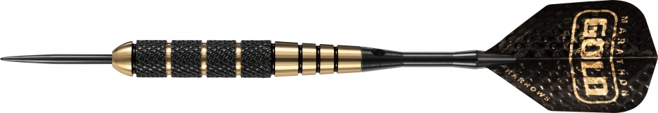 Harrows Darts Voodoo Ebonite Brass Precision Steeltip 19 Gram