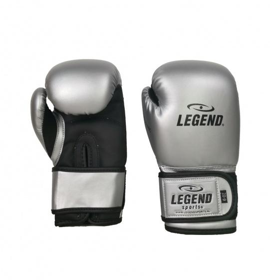 Legend Sports bokshandschoenen junior zilver maat 06oz