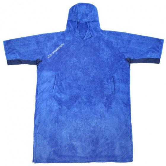 Lifeventure badponcho katoen blauw one size