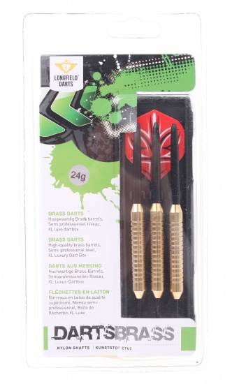 STEELTIP BRASS DARTS 24 GRAM