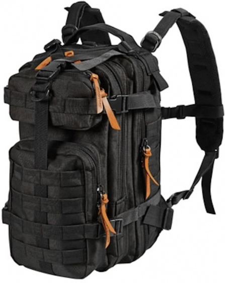 MacGyver rugzak Tactical 26 liter zwart 25 x 25 x 41 cm