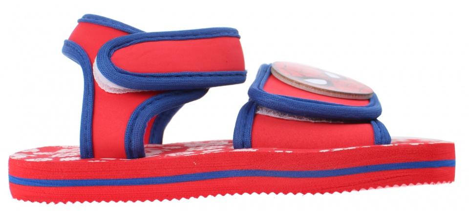 9057f2087ca Marvel sandalen Spider Man jongens rood.