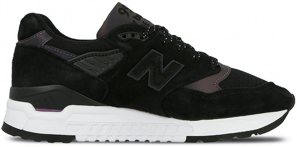 new balance sneaker dames zwart