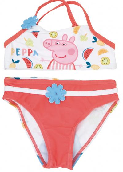 Nickelodeon bikini Peppa Pig meisjes polyester wit maat 6 jaar