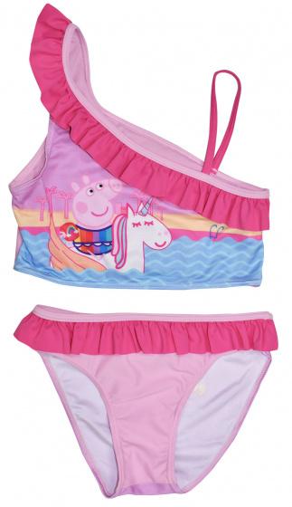 Nickelodeon bikini Peppa Pig meisjes textiel donkerroze maat 2 jaar