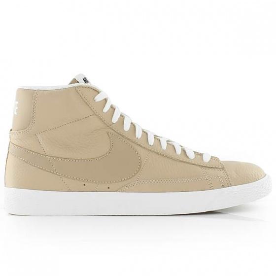 huge inventory 312d0 f80ae ... germany nike blazer mid prm sneakers men beige 0ef51 2408f