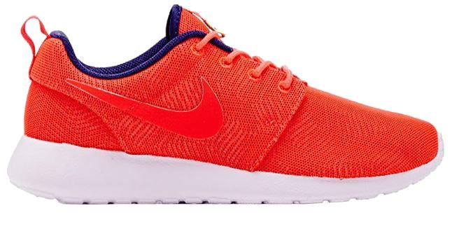 Nike Sneakers Roshe One Moire Dames Rood Maat 38