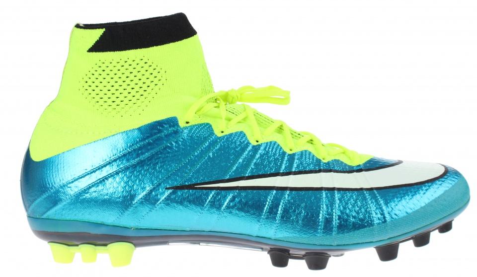 Nike voetbalschoenen Mercurial Superfly AGR blauw dames mt 42