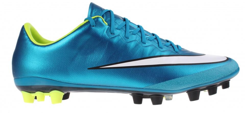 Nike voetbalschoenen Mercurial Vapor X AGR blauw dames mt 38.5