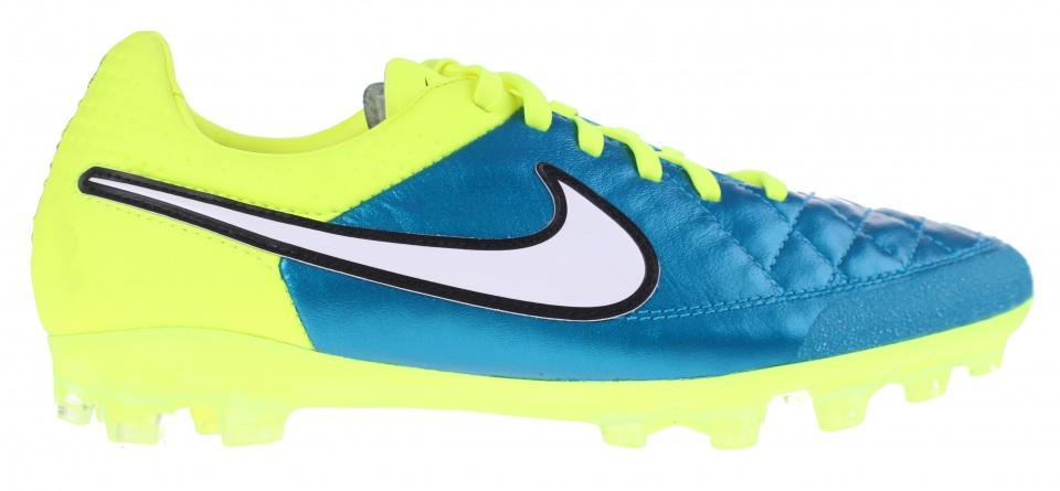 Nike voetbalschoenen Tiempo Legend V AGR blauw dames mt 38.5