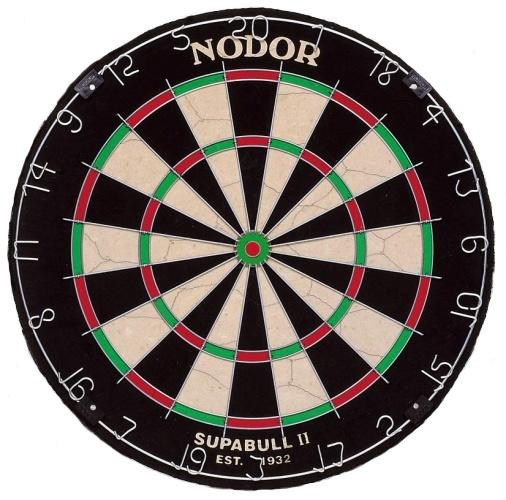 Nodor Dartbord Supabull II