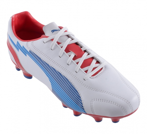 EVOSPEED 5 LEATHER FG HEREN VOETBALSCHOEN WIT MAAT 41