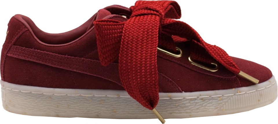 Puma Sneakers Suede Heart Celebrate Damen rot - Internet-Sport Casuals 747ea6e90