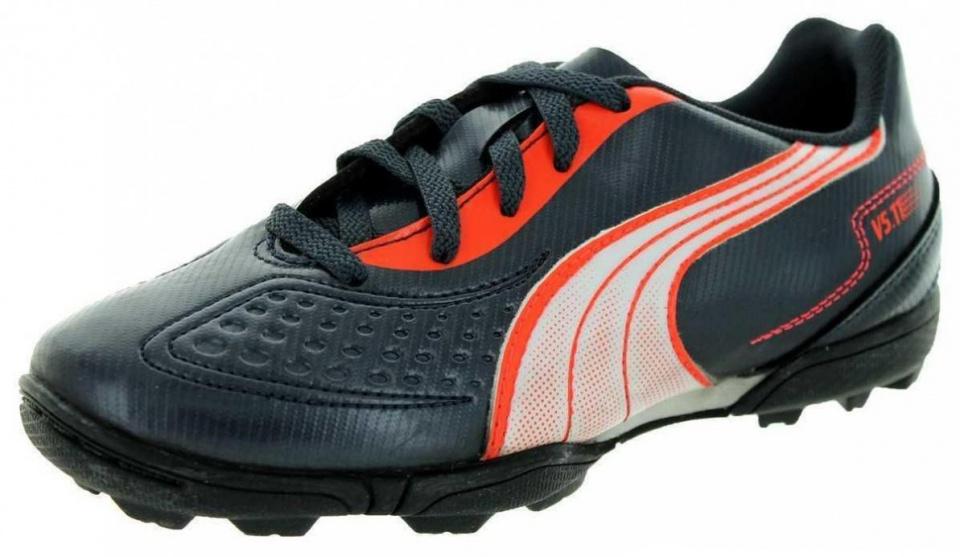 Puma Voetbalschoenen V5.11 TT heren zwart-oranje maat 40.5