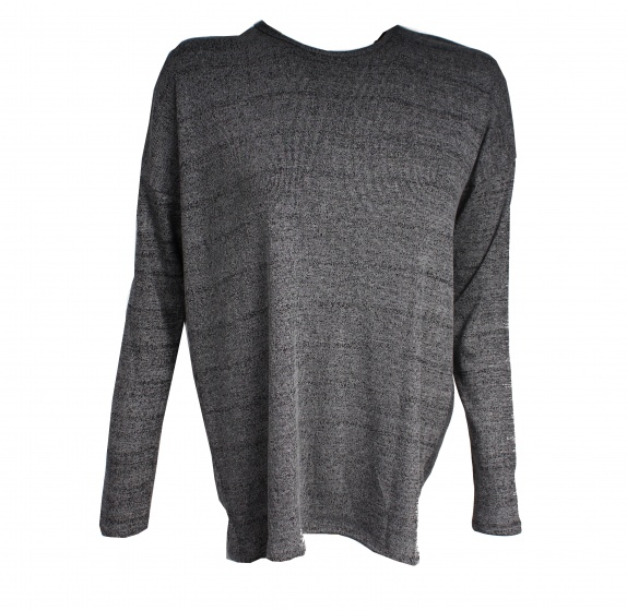 Pursue Fitness cross back sweater zwart/grijs maat L
