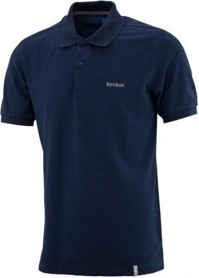 Reebok El Core Pique Heren Polo Donkerblauw Maat S