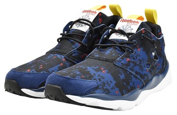 Chaussures De Sport Reebok Furylite Taille Homme Noir / Bleu 42 UuT07