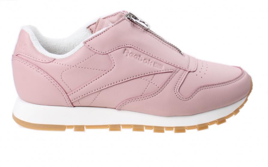 452c858b5f2 Reebok sneakers Classic Leather Zip Chalk dames roze maat 41 - Mijn ...