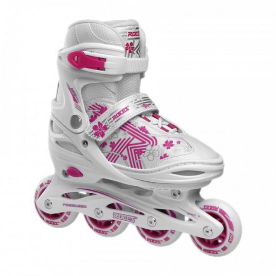 Roces Inline skates Roces Girls Jokey 3.0 Meisjes wit-roze maat 34 37