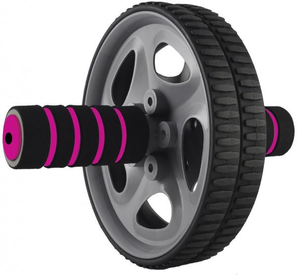 Rucanor buikspierwiel 18,5 cm zwart-roze