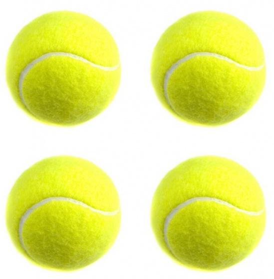 Rucanor tennisballen Alto Pro geel 4 stuks