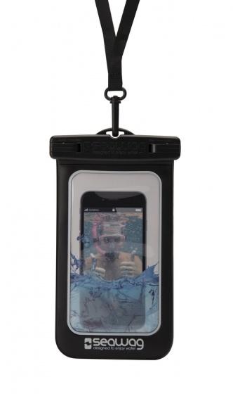 Seawag waterdichte smartphone beschermhoes zwart 5,7 inch