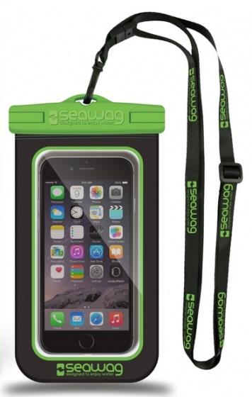 Waterdichte smartphonehoes zwart-groen