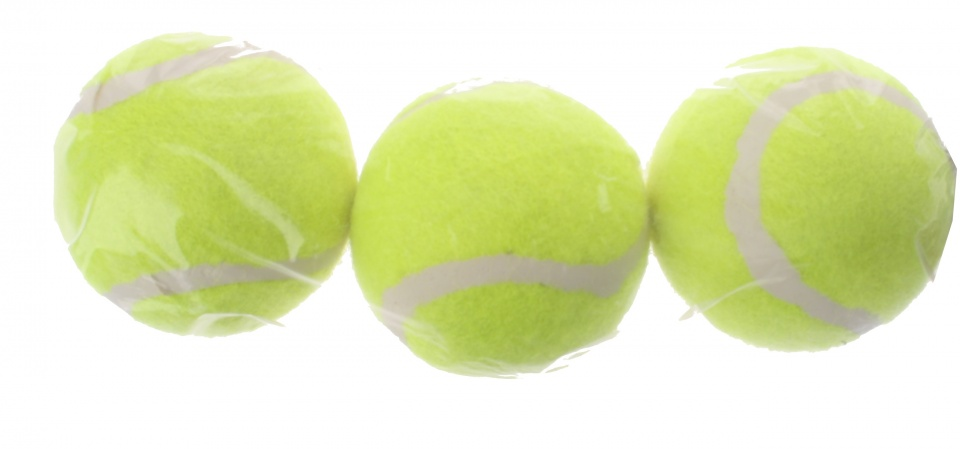Smash tennisballen geel 3 stuks