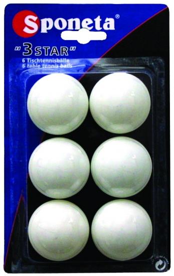 Sponeta tafeltennisballen 3 sterren
