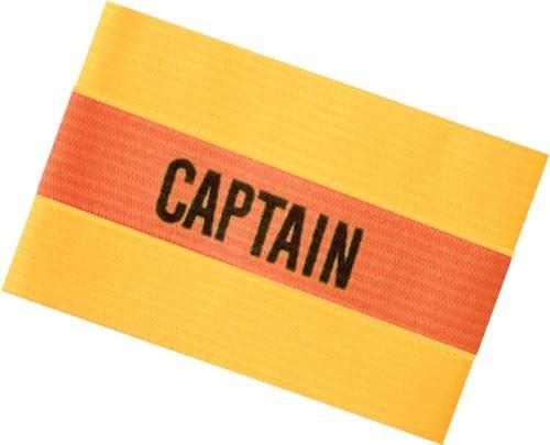 Sportec Aanvoerdersband captain Senior Geel/Oranje/Geel