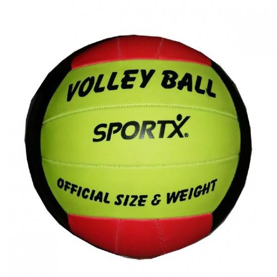 SportX volleybal 21 cm geel