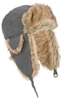 Heerlijke warme muts voor in de winter! deze grijze expeditie muts is voorzien van oorkleppen met gesp.   ...